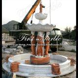 Fonte Multi-Color Mf-1008 da fonte de mármore do granito da fonte da pedra da fonte