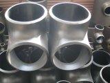 Te de reducción inconsútil del acero de carbón Q235