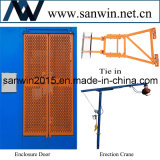 Sc100 choisissent l'ascenseur de plate-forme de construction de cage