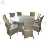 Sofá quente Outdoor Rattan Furniture de Sale com Chair Table Wicker Furniture Rattan Furniture para Outdoor Furniture com Tea Table