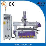 Máquina do CNC do Woodworking com os auto cambiadores da ferramenta (ACUT-1325)