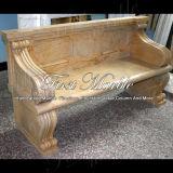 De marmeren Bank van het Graniet van de Steen & Gouden Stoel mbt-503 van Qy van de Lijst