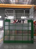 /Twinの単一のケージの極度の高さの材料および乗客の構築のエレベーター