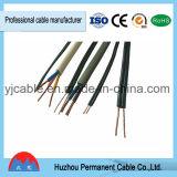 Cabos isolados PVC do cabo de fio elétrico BVVB do cabo