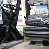Nieuwe Voorwaarde 3m Al Vorkheftruck van het Terrein in de Prijs van Forklifts van 5 Ton