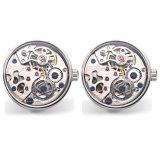 Maak Cufflinks van het Horloge van de Douane met Dekking wm-891 van het Glas