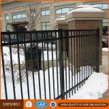 Загородка сада двора перед входом гальванизированная загородкой тяжелая стальная