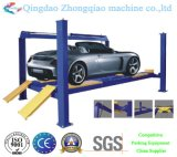Four idraulico Post Car Lift per Home Use
