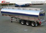 Tri d'essieu d'alliage d'aluminium de réservoir remorque semi à vendre