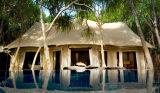Luxe Drie de Tent van de Toevlucht van de Tent van het Hotel van Zalen voor de Toerist van de Familie