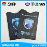 RFID que bloquea la funda/el sostenedor para la protección de la tarjeta de crédito y del pasaporte