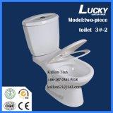 3#-2 het afzonderlijke/Tweedelige Ceramische Toilet van de Badkamers Washdwon in Sanitaire Waren