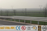 熱いすくい電流を通されたコーティングハイウェイの障壁のガードレール