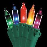 Gift van de Decoratie van het LEIDENE Koord van Kerstmis de Lichte met de Ambacht van het Glas (LB50.5mm. 01)