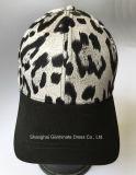 Viseira do chapéu de basebol da tela do cetim no Twill do algodão (LY105)