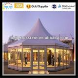 고산 알루미늄 프레임 공간 경간 큰 명확한 경간 15m 구조 결혼식 사건 당 전람 중국 유리 천막