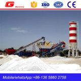 impianto di miscelazione d'ammucchiamento del calcestruzzo mobile 60m3 per Slae (YHZS75)
