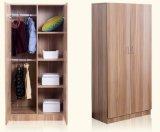 ホテルのプロジェクト(工場価格)のための新しい木のメラミン寝室のワードローブの戸棚の食器棚