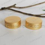 Anodisierte goldene Aluminiumtee-Blechdose
