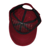 Sombreros lavados gorra de béisbol apenados llanos rojos de encargo del papá