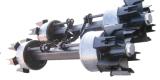 なされる半トレーラーAlxe/6 Spider/13のトンか中国またはくものタイプAxle/BPWのスポークの車軸