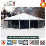 Grande tenda commerciale elegante del baldacchino per il banchetto esterno