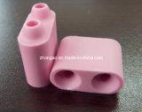 Branelli di ceramica del riscaldamento dell'allumina dentellare di colore 95%