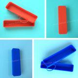 Luva antiderrapagem Eco-Friendly feita sob encomenda da pena da borracha de silicone com sensação da mão macia