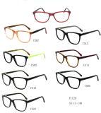 Het In het groot Frame van uitstekende kwaliteit F1129 van de Glazen van het Oogglas van Eyewear van de Acetaat van de Voorraad Optische