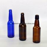 oberste bernsteinfarbige Glasbierflasche der Kronen-330ml (NA-029)