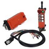 Contrôleur industriel de Radio Remote de 6 mouvements pour l'élévateur de grue