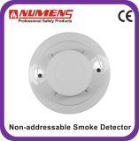 4-Wire, détecteur de fumée conventionnel avec la sortie de relais, alarme de fumée (403-008)