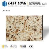 Слябы камня кварца горячего цвета гранита сбывания искусственние для Kitchentops с строительным материалом