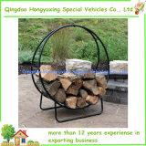cercle en acier du bois de chauffage 40-Inch avec la housse en toile
