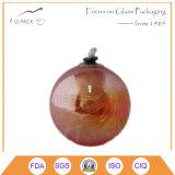Quadratische Form-Glaskerze-Halter, Kerze-Lampe