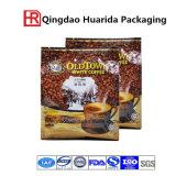 sac latéral noir mat de sachet en matière plastique de café de gousset de papier d'aluminium de 250g 500g 1kg 2kg 12oz 14oz 16oz