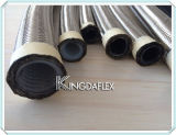 Boyau de teflon tressé de l'acier inoxydable R14 de SAE 100
