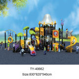 Pretpark van de Speelplaats van kinderen het Openlucht