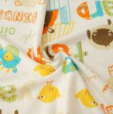 Impresión hecha punto de la tela para el bebé