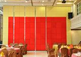 Parede de divisória operável do restaurante de alumínio do fabricante de China