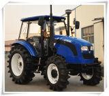 trator de exploração agrícola de 110HP 4WD com preço mais barato