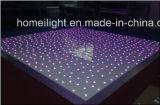 RGB Starlit Pista de baile, LED Dance Floor, RGB Estrella Pista de baile cubierta boda interlocutor externo