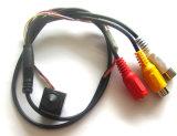 cámaras de vigilancia micro video audios tamaño pequeño de la seguridad casera de 4-24V 90deg