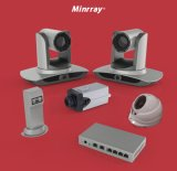 Cámara de seguimiento auto hecha salir LAN de la videoconferencia de la cámara del Sdi PTZ (UV100)