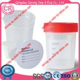 Envase plástico disponible 60ml de la taza de la orina