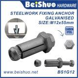 M12 Boxbolt Dynamicdehnungs-Anker für Stahl