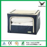 Eg-Fsb0066 Caixa de armazenamento dobrável de grande capacidade de cor azul