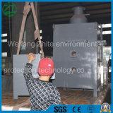 Animais de alta qualidade da doença/animal de estimação/desperdício médico/lixo marinho de vida/lama biológica do incinerador do estojo compato da proteção ambiental