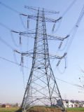固体耐久の角度鋼鉄伝達タワー