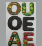 Etiqueta engomada del imán del refrigerador de la alta calidad para la decoración